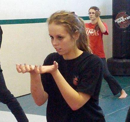 Master Delgado demonstrating Self Defense Techniques