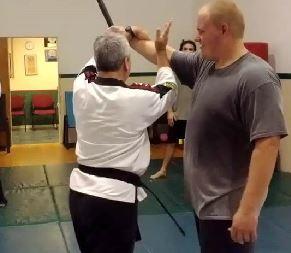 Self Defense Against Stick