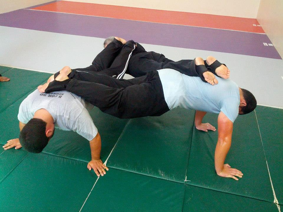 Three way push-ups