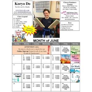2017-06 June Calendar