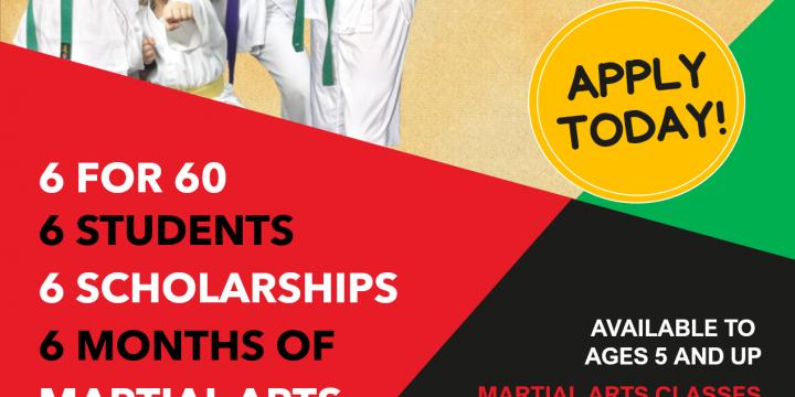 6 for 60 Scholarship Opportunities