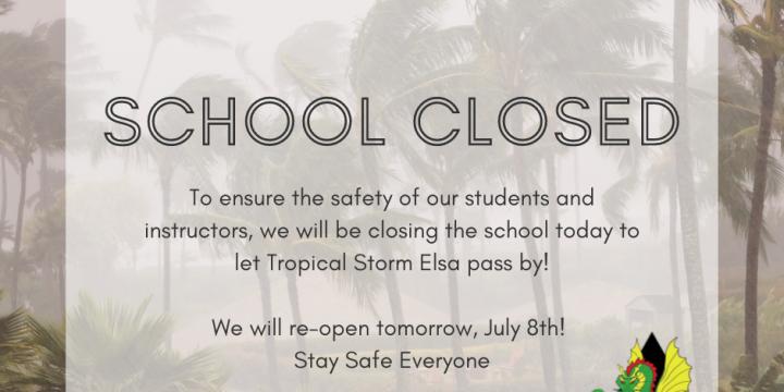 (7/7/21) SCHOOL CLOSED
