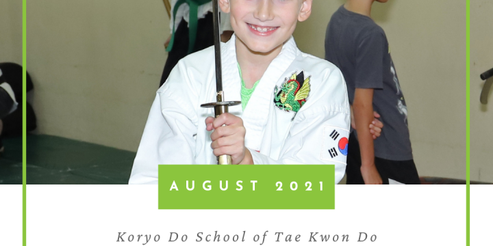 KD School Schedule [August 2021]