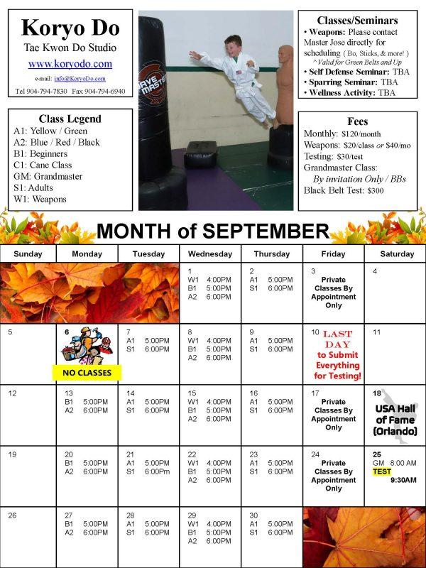 2021-09 KD School Calendars - September